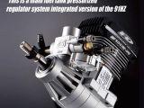 Motore per elicotteri Max 91HZR con regolatore di pressione del carburante - OS Engine RC Heli Engine