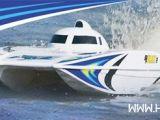 Motoscafo offshore Radiocomandato AquaCraft Wildcat EP