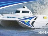 Motoscafo brushless AquaCraft Wildcat EP - Safalero