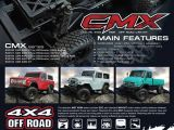 MST CMX scale trail truck: nuovo scaler in scala 1/10