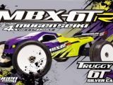 Mugen MBX 6TR Silver Carbon Edition: truggy in scala 1/8