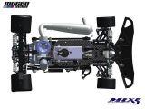 Mugen MRX5 immagini CAD - Automodello da competizione