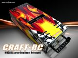 CRAFT RC: Set di adesivi per lo Starter Box Mugen