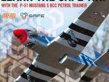Hangar 9 P-51 Mustang S con motore da 8cc Bind N Fly