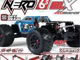 ARRMA NERO 6S 4WD: monster truck RTR in scala 1/8