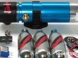 """Sistema nitro protossido d'azoto per automodelli RC - """"Silver Bullet"""" della RB Innovastions"""