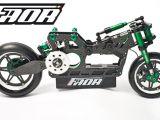 Nuova Faor T15: motocicletta radiocomandata in scala 1/5