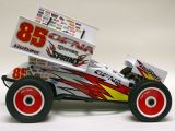 Hobao Hyper Sprint RTR Dirt Oval in scala 1/8
