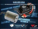 Orion Vortex 2 Experience Titanium Combo - Motore brushless e regolatore ESC