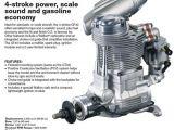 Motore 4 tempi a benzina OS Engine GF40 da 39,96cc