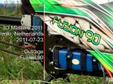 Outrage Fusion 90e video - Test di volo al 3D Masters 2011