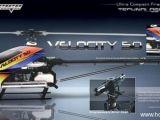 Outrage Velocity 50 con motore Novarossi .57 - Elicottero radiocomandato per volo 3D