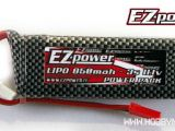 Batterie LiPo EZpower per elicotteri Big Lama Esky e Soft Air