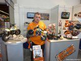 AR Racing alla fiera del modellismo di Norimberga - Freno a disco per la motocicletta radiocomandata ARX 540