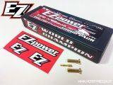 Pacchi batterie Lipo 7200 MAH 7,4V 70/140C - EZpower