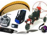 Parapendio radiocomandato motorizzato Hacker - FlightTech