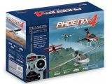 Simulatore di volo Phoenix R/C Pro V4 e radio DX5e: Horizon