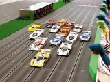BRM - Pista 6 corsie per automodelli slot car in scala 1/24