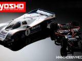Kyosho Plazma LM 1/12 con carrozzeria Porsche 962C Le Mans