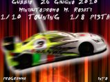 Gara notturna Cat. 1/10 Touning e 1/8 Pista - Miniautodromo M. Rosati (Gubbio)
