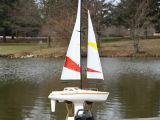 Pro Boat Endeavor EP RTR - Barca a Vela Radiocomandata  Navimodellismo