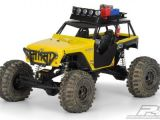 ProLine Jeep Wrangler Rubicon per Axial Wraith e barra luci