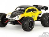 Proline Volkswagen Baja Bug Carrozzeria Lexan per mini E-REVO VXL in scala 1:16
