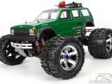 Jeep Cherokee: carrozzeria in lexan per E-Maxx e Revo 3.3