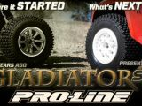 Pro-Line Gladiator SC: Gomme per Short Course Truck
