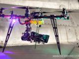 Multicottero professionale per riprese aeree - CROTALUS 25 Esacopter di Modellismo Maximo
