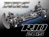 ARC R10 2015 KIT - Touring Car 4WD in scala 1/10