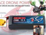 Batterie per droni racer da competizione - Team Orion