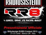 RR8 Buggy Radiosistemi al Bitty Design Euro Contest 2013