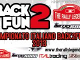Domenica 9 giugno a Scandicci ritorna il Campionato Italiano Back2Fun - The Rally Legends!