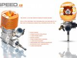RB Speed .12: motore nitro per Touring Car 200mm 1/10