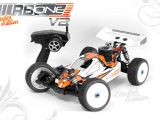 RB ONE V2 Limited Edition: Buggy nitro in scala 1/8