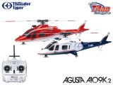 Elicotteri Radiocomandati - Super Combo Agusta A109K2 con Mini Titan E325 e radio 2,4 GHz