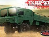 Camion radiocomandato a sei ruote RC4WD Beast II 6x6