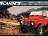 RC4WD Gelande II Truck Kit con carrozzeria Defender D90