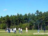 Record mondiale di elicotteri radiocomandati in volo