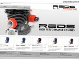 Reds Racing Mario Rossi - Motori nitro per automodellismo High Performance RC Engine