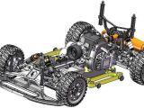 Nuovo automodello rally in scala 1/5 della RGT Racing