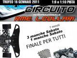 RME Collari: Trofeo Gennaio 2011 per automodelli 1/8 e 1/10
