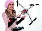 Robbe RO-Copter: Quadricottero con supporto per fotocamera Spielwarenmesse Toy Fair 2012