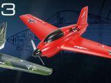 Robbe: aeromodello Nano Racer ME 163 Kraftei ARF