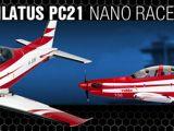 Aeromodello Robbe Pilatus PC21 Nano-Racer ARF
