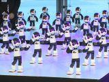 Giappone: la danza dei 100 robot Robi - VIDEO