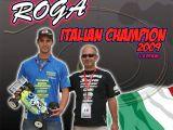 Le miscele per modellismo Roga e Riccardo Rabitti campioni italiani 2009 - Buggy 1/8  Amsci