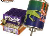 Novak Terra Claw 55T e Rooster Crawler - Motore e regolatore di velocità per Rock Crawling