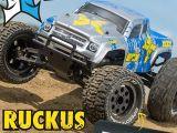 Monster Truck ECX Ruckus 2WD in scala 1/10